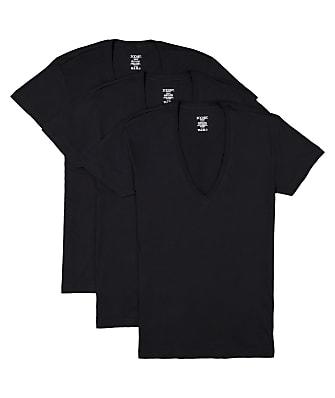2(x)ist Cotton Essential Deep V-Neck T-Shirt 3-Pack