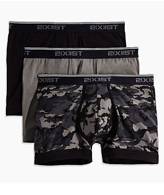 2(x)ist Cotton Stretch Boxer Brief 3-Pack