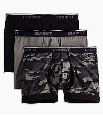 2(x)ist Cotton Stretch Boxer Brief 3-Pack