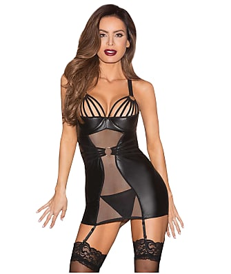 Shirley of Hollywood Wild Stretch Chemise Set