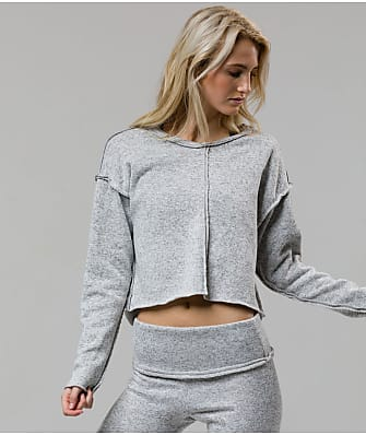 Onzie Raw Seam Cropped Sweatshirt