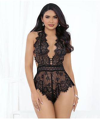 Escante Eyelash Lace Romper