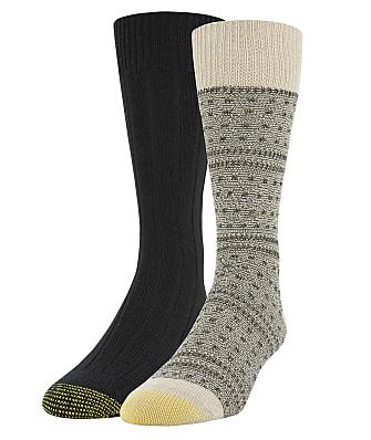 Gold Toe Recycled Fairisle Dress Socks 2-Pack