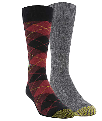 Gold Toe Deer & Plaid Dress Socks 2-Pack