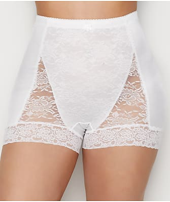 Rhonda Shear Pin-Up Lace Tummy Control High-Waist Boyshort