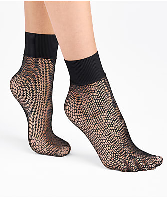 Wolford Uniform Net Socks