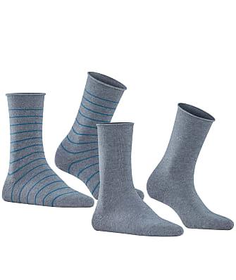Falke Happy Stripe Crew Socks 2-Pack
