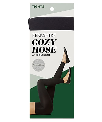 Berkshire Cozy Hose Plush Lined Footless Tights