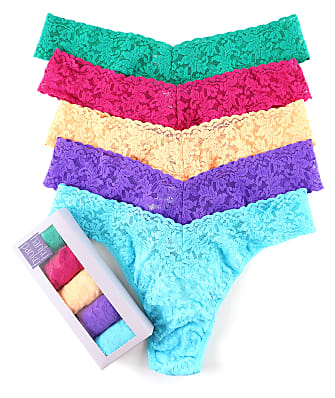 Hanky Panky Signature Lace Original Rise Thong 5-Pack
