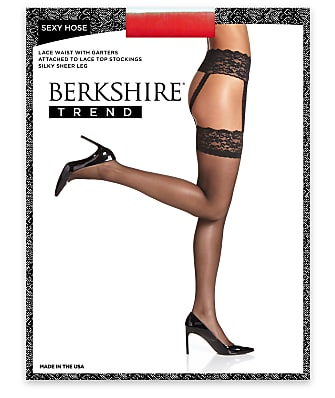 Berkshire Sexy Hose Lace Waist Garter Stockings