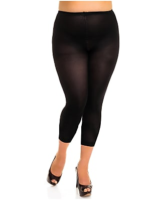 Glamory Plus Size Velvet 80 Opaque Footless Tights