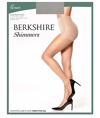 Berkshire The Skinny Shimmers Shaping Pantyhose