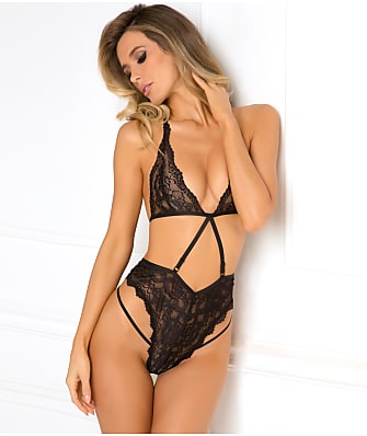 Rene Rofe Seductive Strappy Teddy