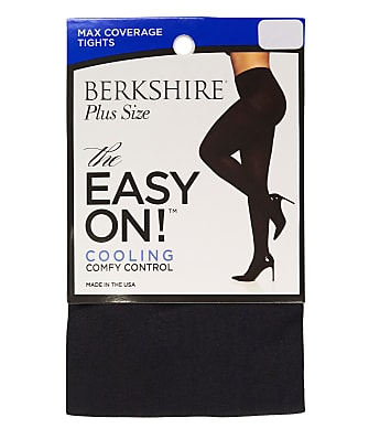 Berkshire Plus Size Easy On Max Coverage Cooling Control Top Tights
