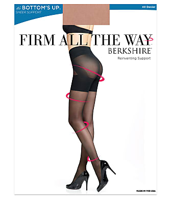 Berkshire Firm All The Way Bottom's Up Shaping Pantyhose