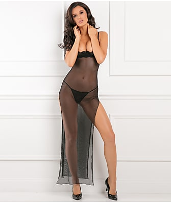 Rene Rofe All Out There Open Cup Gown Set