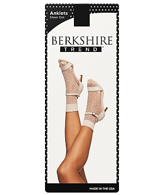 Berkshire Sheer Dot Anklet