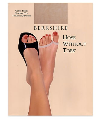 Berkshire Ultra Sheer Toeless Pantyhose