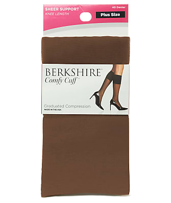 Berkshire Plus Size Comfy Cuff Graduated Compression Sock