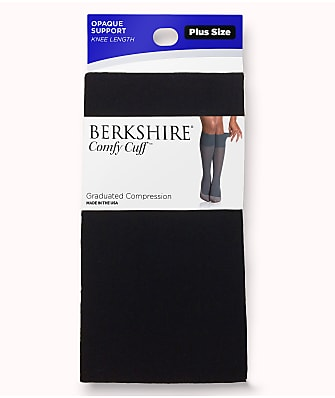 Berkshire Plus Size Comfy Cuff Opaque Compression Trouser