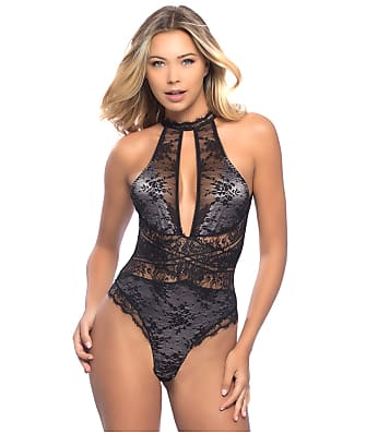 Oh La La Cheri Jeanette High Neck Wire-Free Teddy