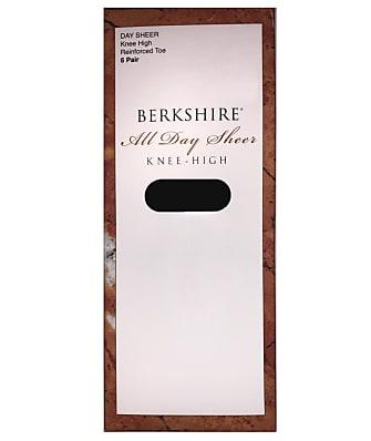 Berkshire Queen All Day Sheer Knee Highs 6-Pack