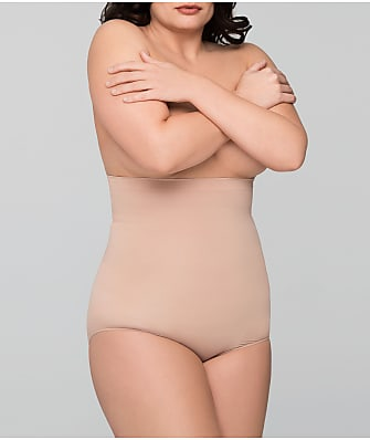 Body Wrap Plus Size High-Waist Firm Control Brief