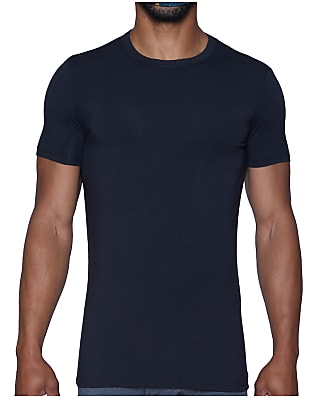 Wood Underwear Modal Crew Neck T-Shirt