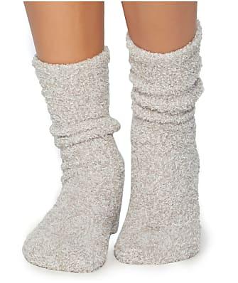 Barefoot Dreams CozyChic Heathered Plush Socks