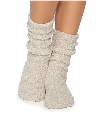 Barefoot Dreams CozyChic Heathered Plush Socks