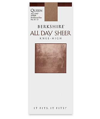 Berkshire All Day Sheer Queen Knee Highs
