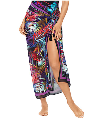 Miraclesuit Mystical Palms Sarong Cover-Up