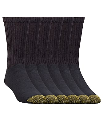 Gold Toe Cotton Cushion Crew Socks 6-Pack