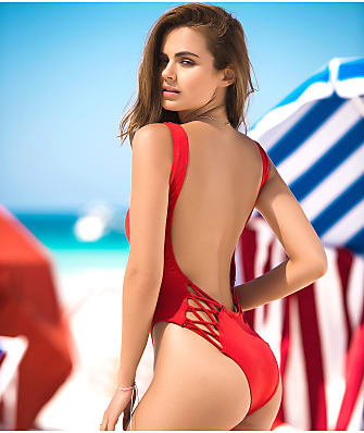 Mapalé Ultra-Low Scoop Back One-Piece
