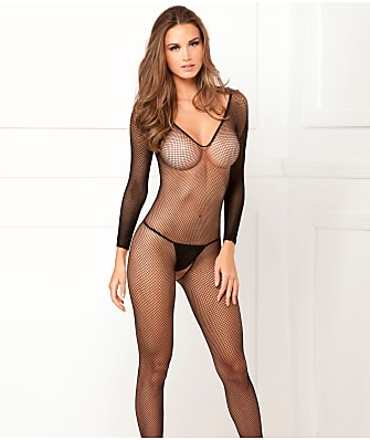 Rene Rofe Fishnet Bodystocking