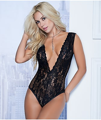 Mapalé Lace V-Back Wireless Teddy