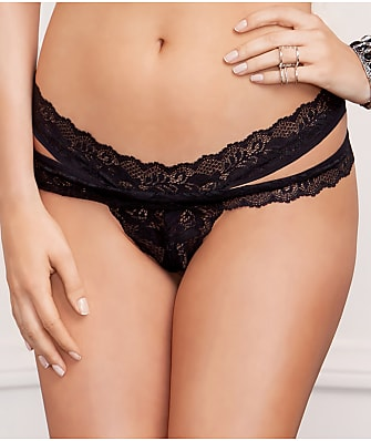 iCollection Strappy Lace Thong