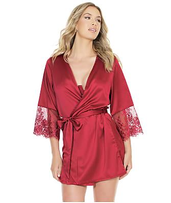 Coquette Satin Short Robe