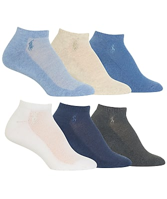 Ralph Lauren Low-Cut Sport Socks 6-Pack
