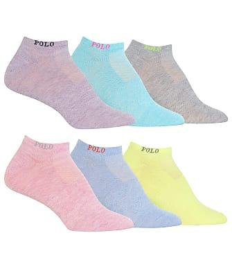Ralph Lauren Low-Cut Logo Socks 6-pack