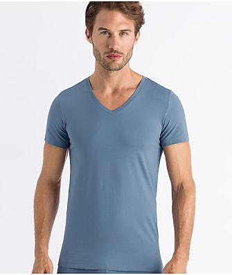 Hanro Cotton Superior V-Neck T-Shirt