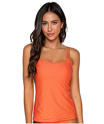 Sunsets Tropical Coral Taylor Underwire Tankini Top