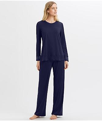 Hanro Ira Cotton Pajama Set