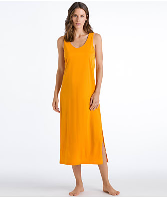 Hanro Laura Long Tank Knit Gown