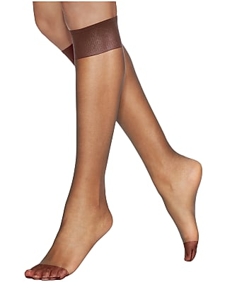 cbb4fed74 Hanes Silk Reflections Reinforced Toe Knee Highs 2-Pack