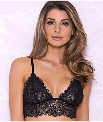 iCollection Scallop Lace Bralette