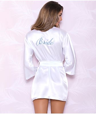 iCollection Satin Bridal Robe
