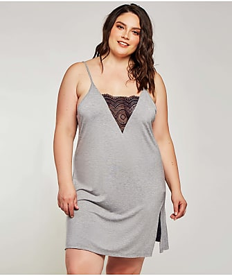 iCollection Plus Size Rhea Chemise