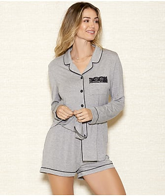 iCollection Rhea Modal Knit Pajama Set