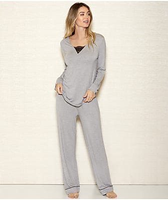 iCollection Rhea Modal Knit Pajama Set
